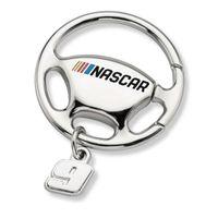 Chase Elliott Steering Wheel Key Ring with #9 Charm