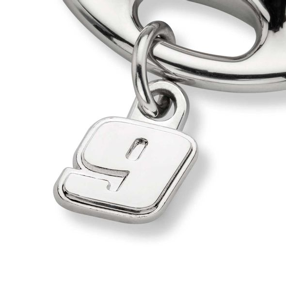 Chase Elliott Steering Wheel Key Ring with #9 Charm - Image 2