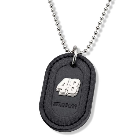 Jimmie Johnson #48 Dog Tag with Chain