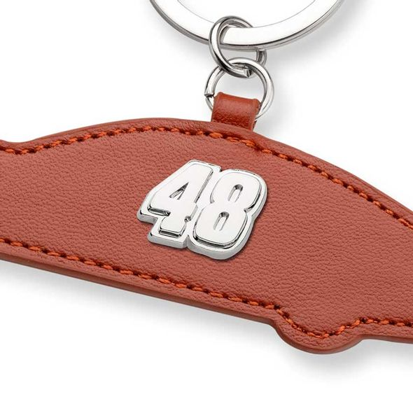 Jimmie Johnson Leather Card Holder and Key Ring - Image 2