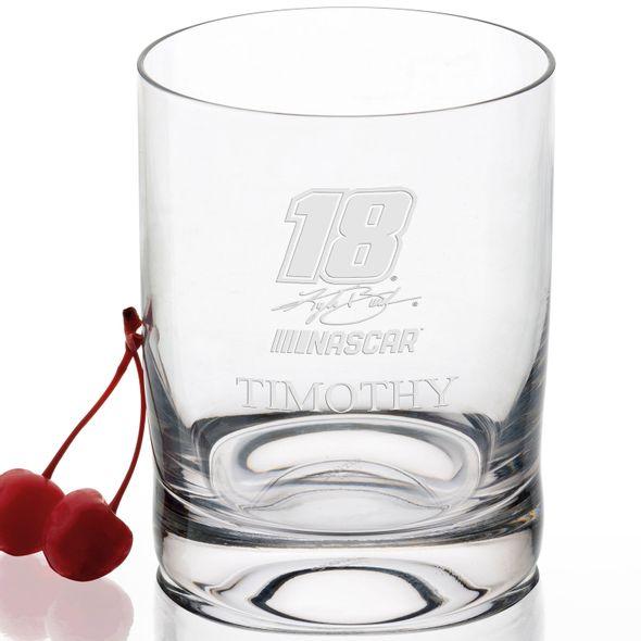 Kyle Busch Glass Tumbler - Image 2