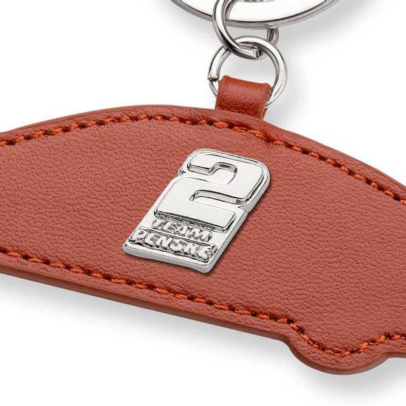 Brad Keselowski Leather Card Holder and Key Ring - Image 2