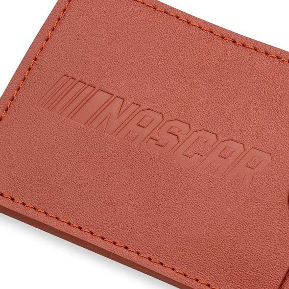 Brad Keselowski Leather Card Holder and Key Ring - Image 3