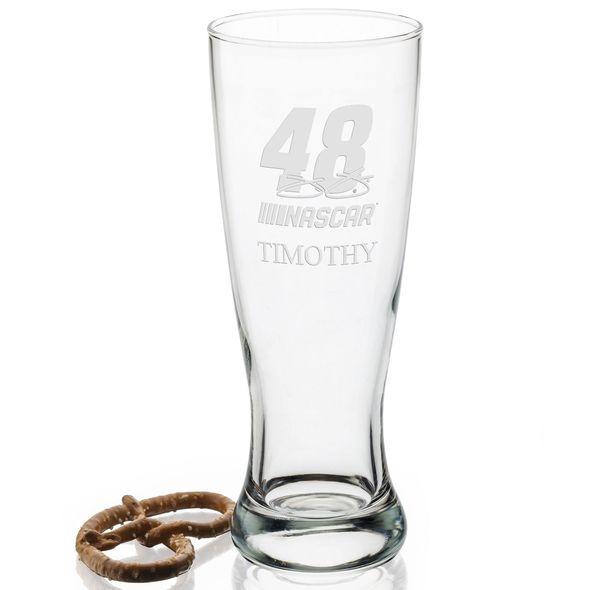 Jimmie Johnson 20 oz Pilsner Glass - Image 2
