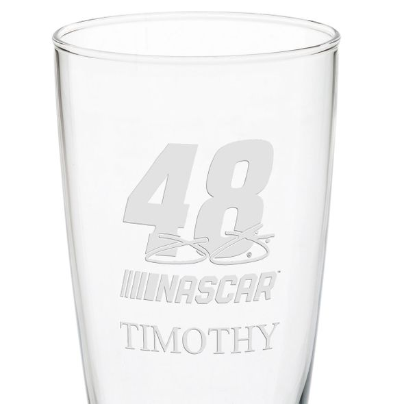 Jimmie Johnson 20 oz Pilsner Glass - Image 3