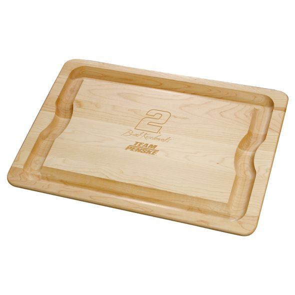 Brad Keselowski Maple Cutting Board