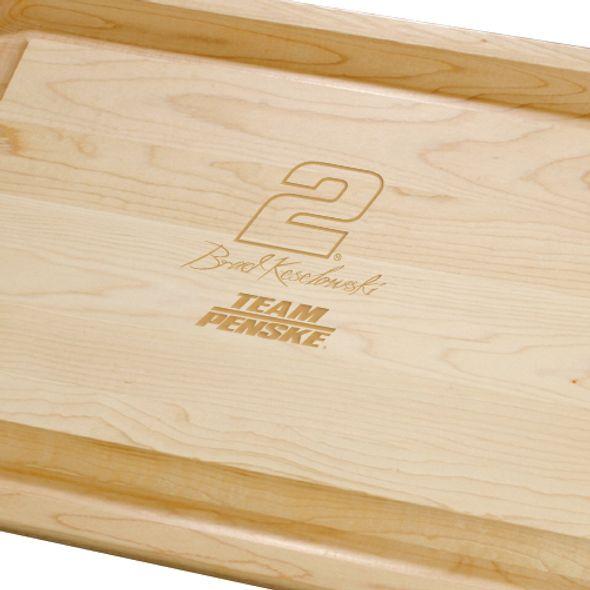 Brad Keselowski Maple Cutting Board - Image 2