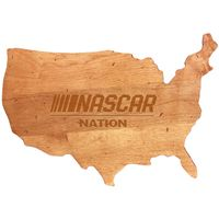 NASCAR USA Cutting Board