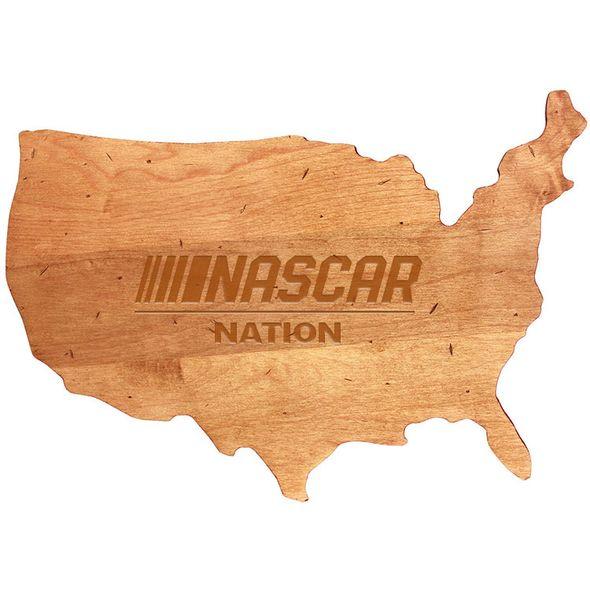 NASCAR USA Cutting Board
