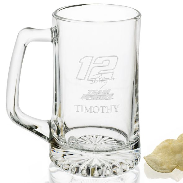 Ryan Blaney 25 oz Beer Mug - Image 2