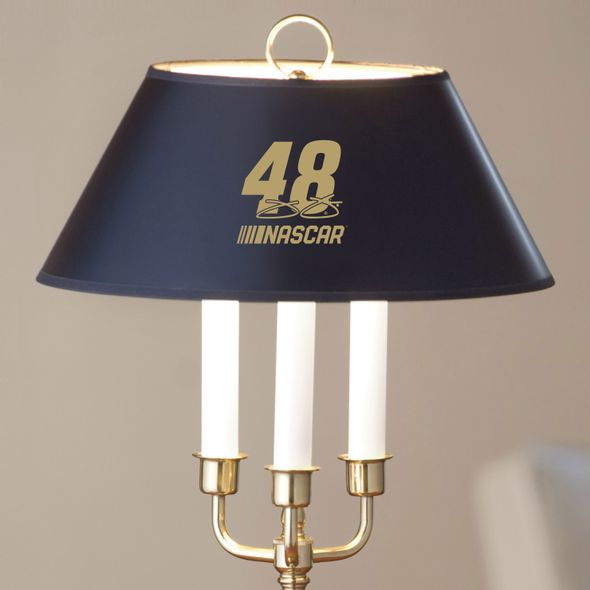 Jimmie Johnson Lamp in Brass & Marble - Image 2