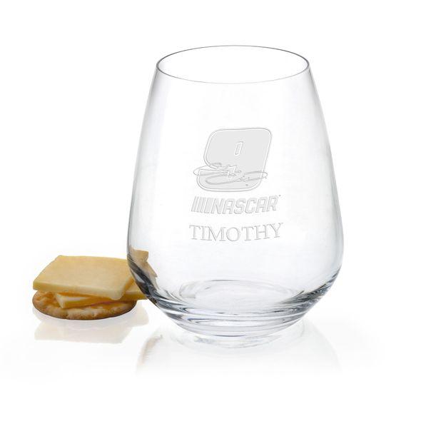 Chase Elliott Stemless Wine Glass