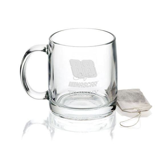 Dale Earnhardt Jr. Glass Coffee Mug