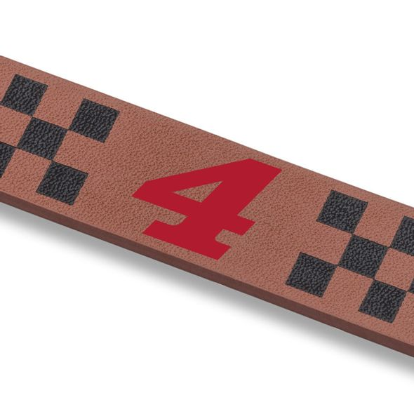 Kevin Harvick Leather Cuff Bracelet with #4 - Image 2