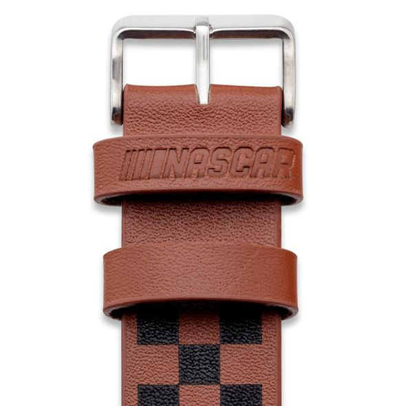 Kevin Harvick Leather Cuff Bracelet with #4 - Image 3