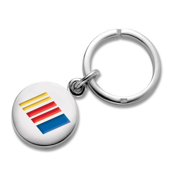 NASCAR Sterling Silver Insignia Key Ring
