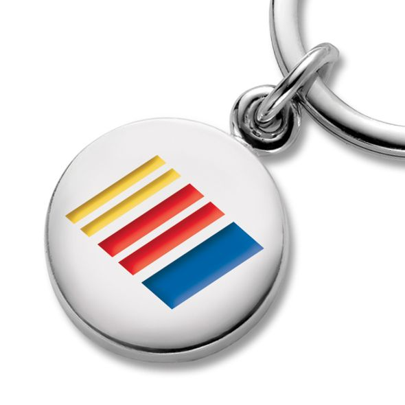 NASCAR Sterling Silver Insignia Key Ring - Image 2