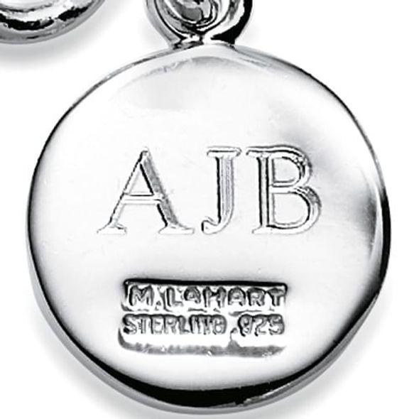 NASCAR Sterling Silver Insignia Key Ring - Image 3