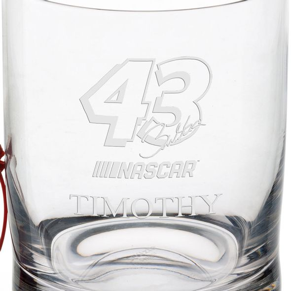 Bubba Wallace Glass Tumbler - Image 3