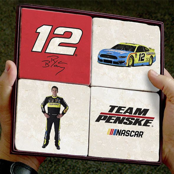 Ryan Blaney Marble Coasters