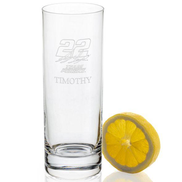 Joey Logano Iced Beverage Glass - Image 2