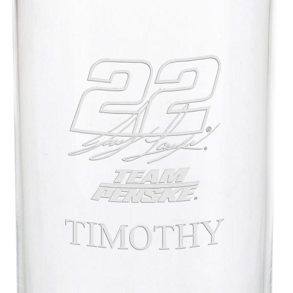Joey Logano Iced Beverage Glass - Image 3