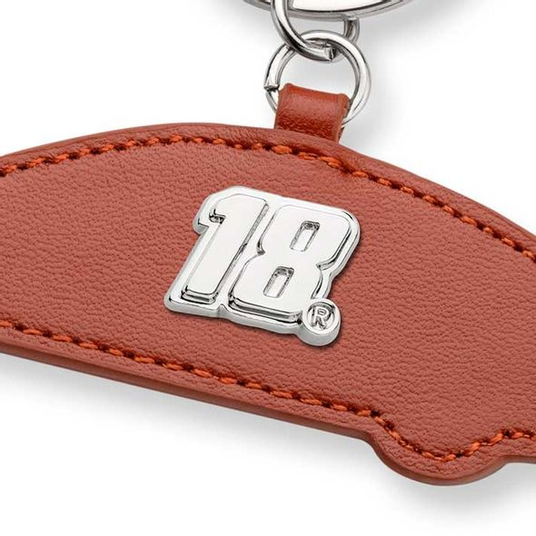 Kyle Busch Leather Card Holder and Key Ring - Image 2