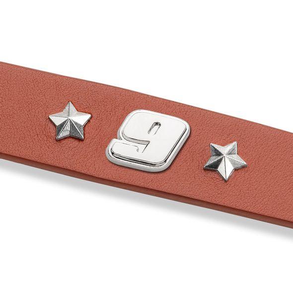 Chase Elliott Leather Bracelet with #9 Rivet - Image 2
