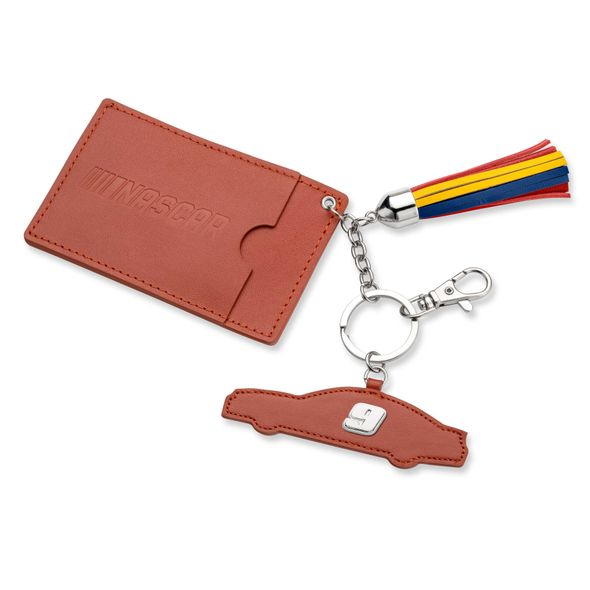 Chase Elliott Leather Card Holder and Key Ring