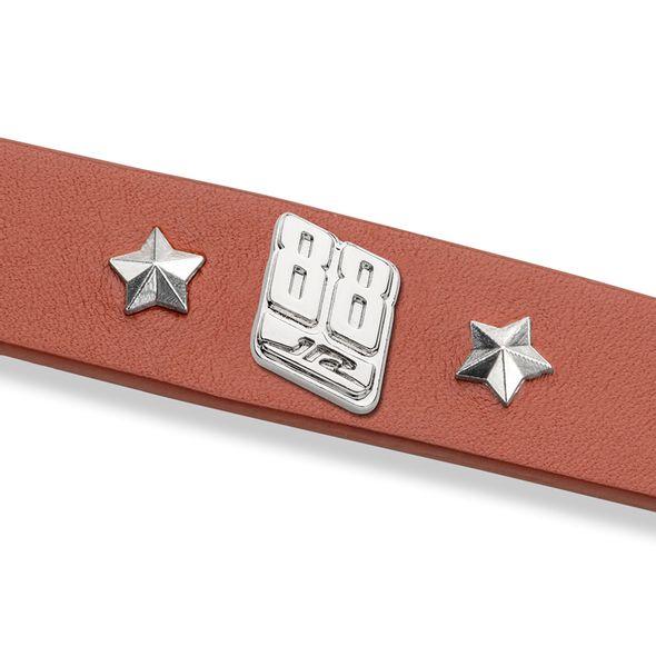 Dale Earnhardt Jr. Leather Bracelet with #88 Rivet - Image 2