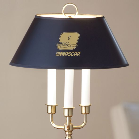 Chase Elliott Lamp in Brass & Marble - Image 2