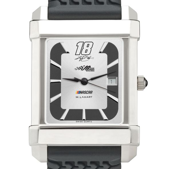 Kyle Busch #18 Speedway Watch with Rubber Strap - Image 1