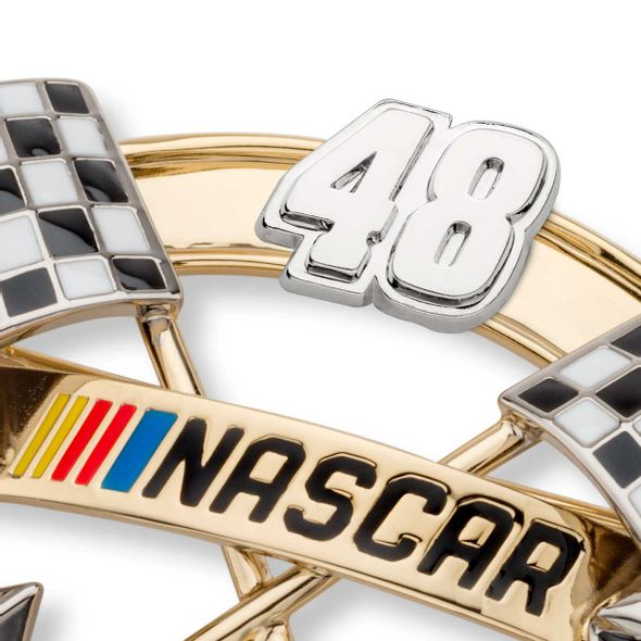 Jimmie Johnson Brooch Pin with #48 - Image 2