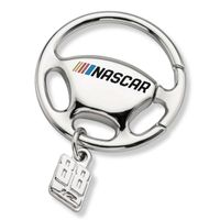 Dale Earnhardt Jr. Steering Wheel Key Ring with #88 Charm