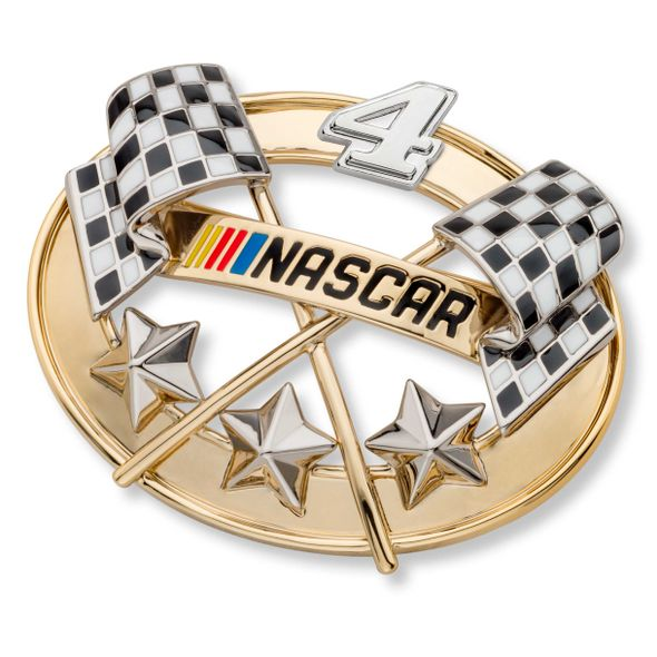 Kevin Harvick Brooch Pin with #4