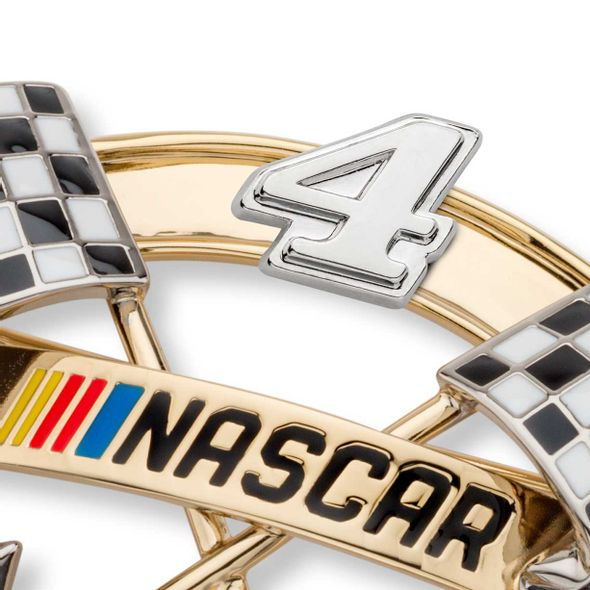 Kevin Harvick Brooch Pin with #4 - Image 2