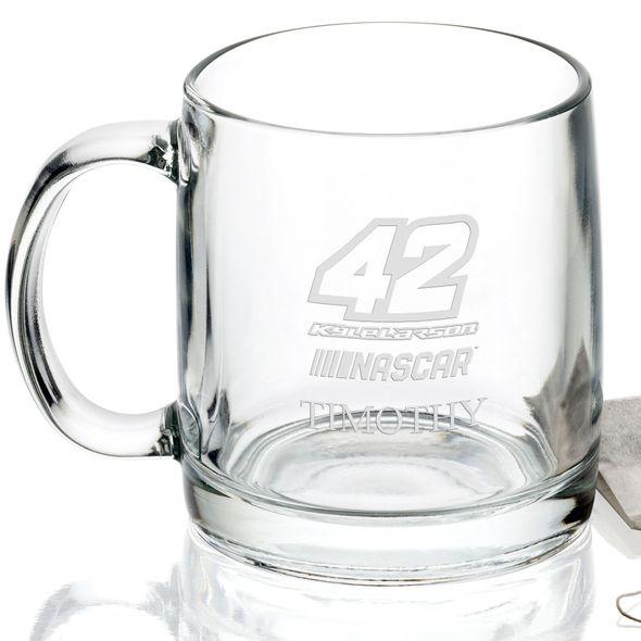 Kyle Larson Glass Coffee Mug - Image 2
