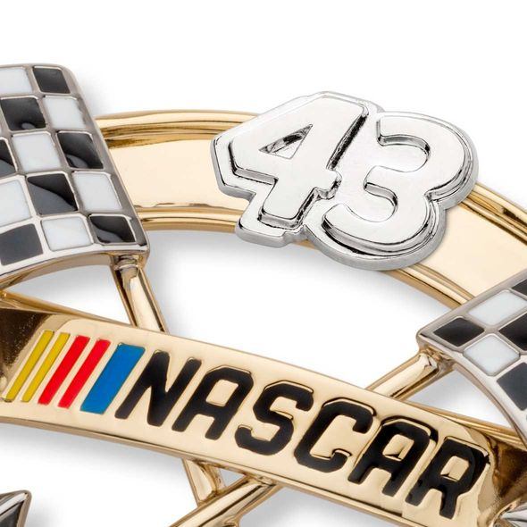 Bubba Wallace Brooch Pin with #43 - Image 2