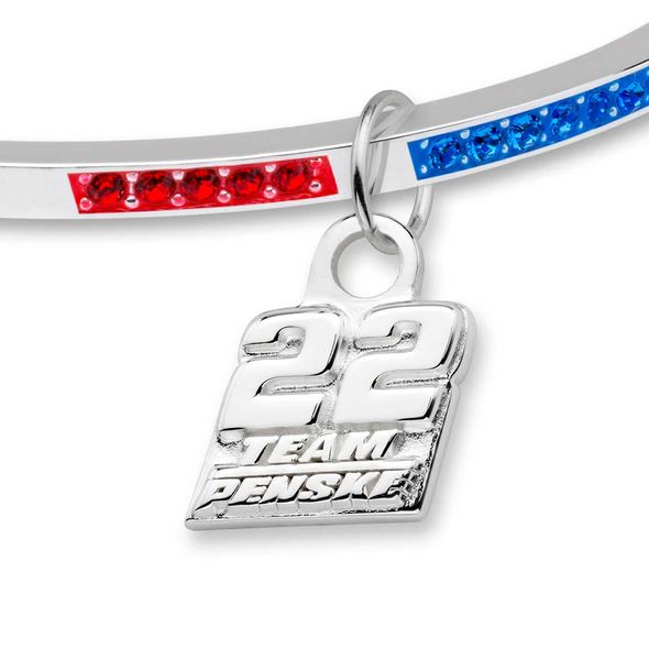 Joey Logano Sterling Stack Bangle - Image 2
