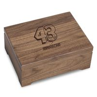 Bubba Wallace Solid Walnut Collector's Box