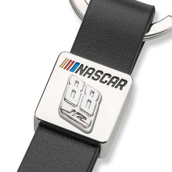 Dale Earnhardt Jr. #88 Leather Strap Key Ring - Image 2