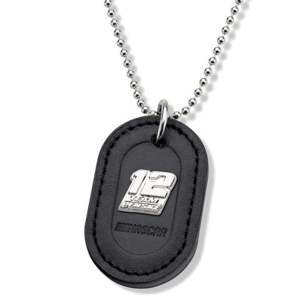 Ryan Blaney #12 Dog Tag with Chain - Image 1