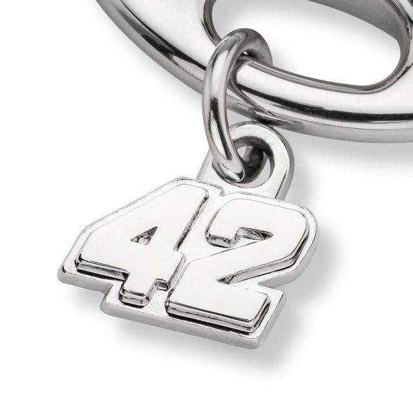 Kyle Larson Steering Wheel Key Ring with #42 Charm - Image 2