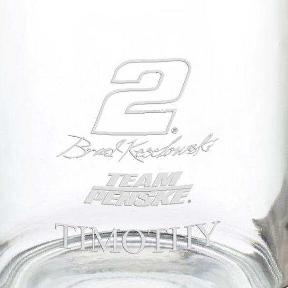 Brad Keselowski Glass Coffee Mug - Image 3