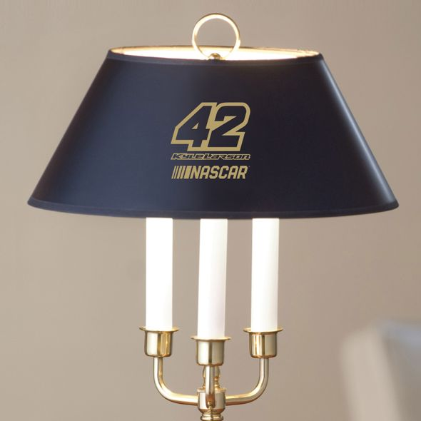 Kyle Larson Lamp in Brass & Marble - Image 2