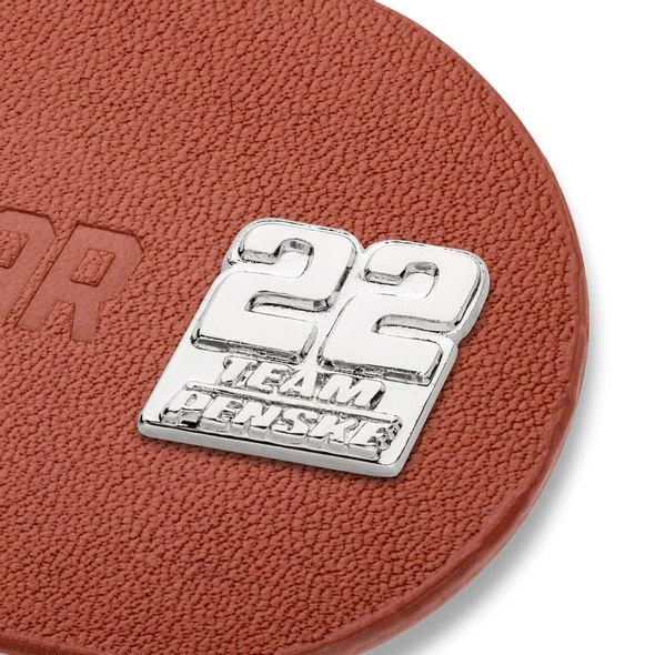 Joey Logano #22 Leather Money Clip - Image 2