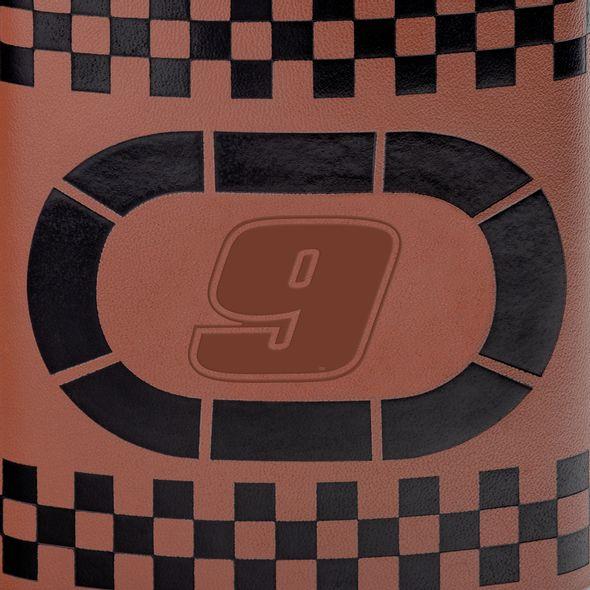 Chase Elliott Retro Leather Flask - Image 2