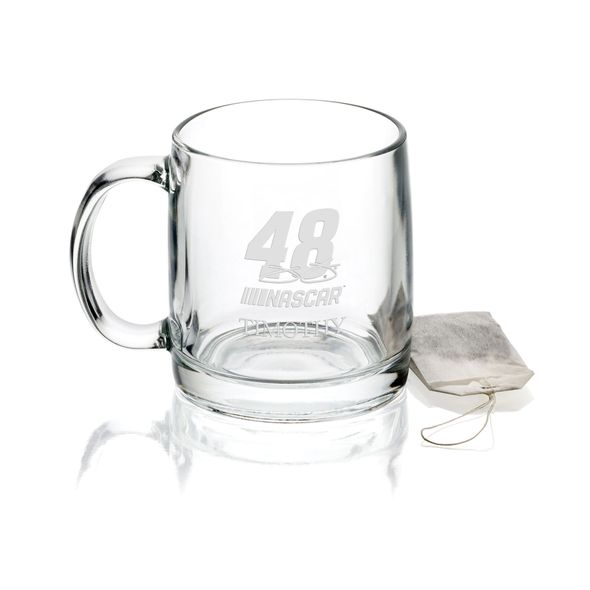 Jimmie Johnson Glass Coffee Mug - Image 1