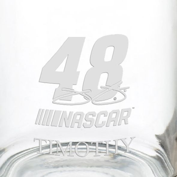 Jimmie Johnson Glass Coffee Mug - Image 3