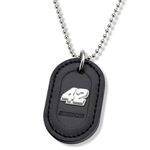 Kyle Larson #42 Dog Tag with Chain